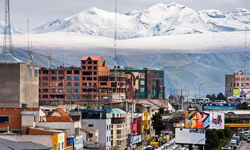 Life in the highest cities in the world