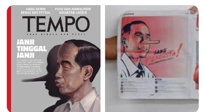 Tiga Jawaban Telak untuk Pendukung yang Anggap Tempo Hina Jokowi