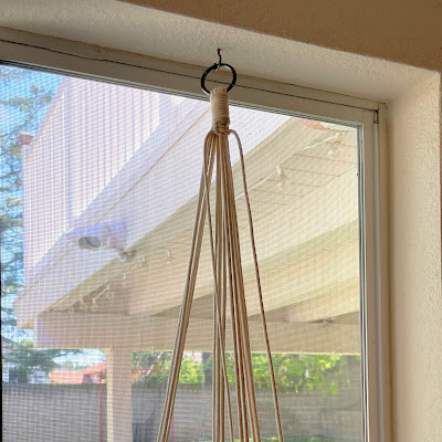 Plant Hanger Instructions by Lisa Yang Jewelry