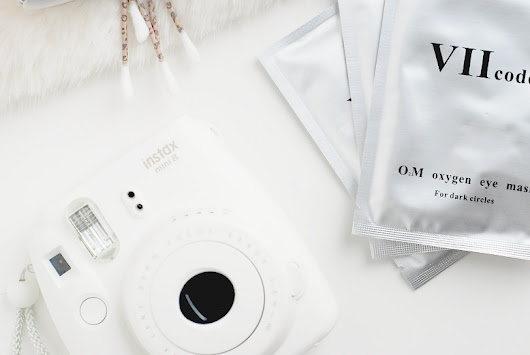 VII Code O2M Oxygen Eye Mask for Dark Circles | Review
