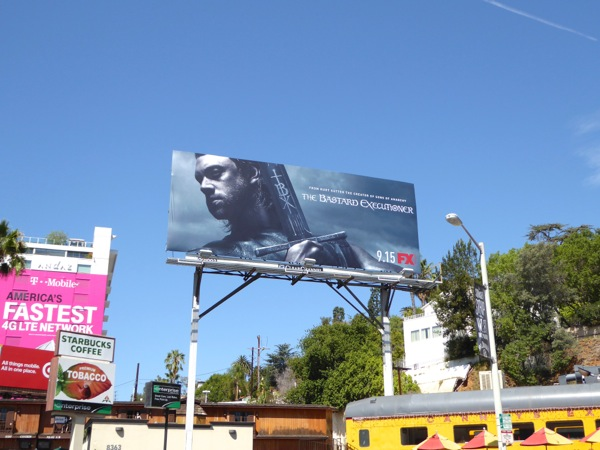 Bastard Executioner series launch billboard