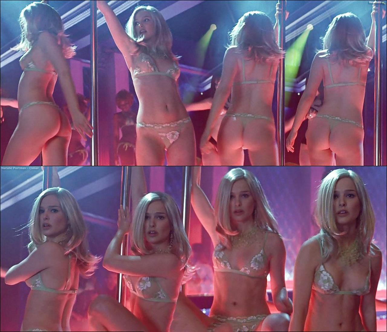 Natalie portman strip tease