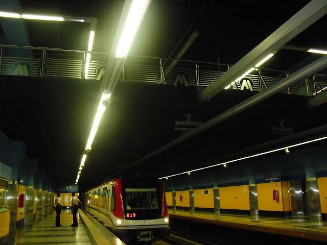 La Línea 1 del metro de Santo Domingo