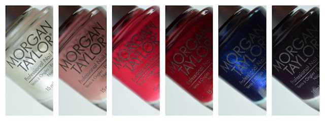 fall inspired nail polish shades in bottles