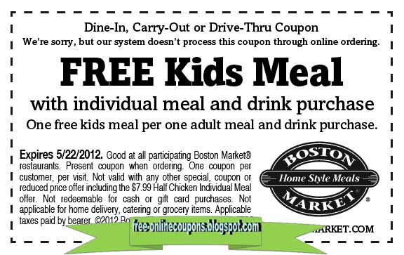 Boston 2018 coupon book