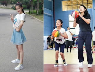 Picture collection of Yao Ming daughter's Yao Qinlei