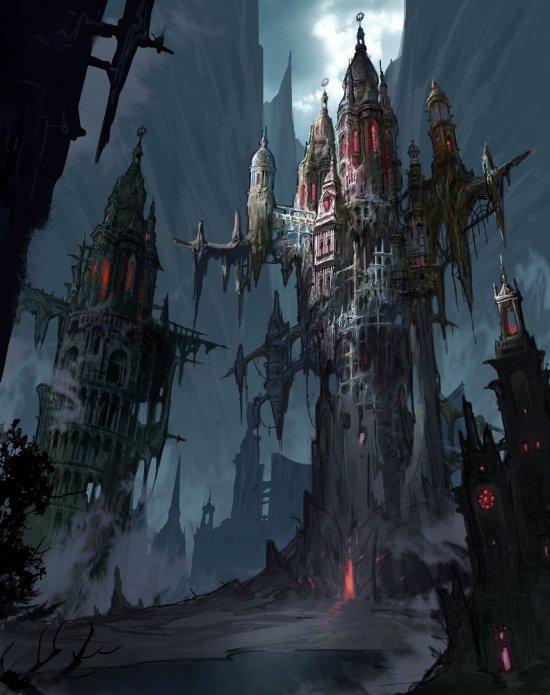 Avant Choi artstation ilustrações artes conceituais fantasia cenários paisagens