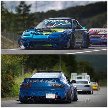 Nissan 240SX Rocket Bunny Custom Modification