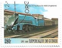 Selo Trem Pacifique 4498
