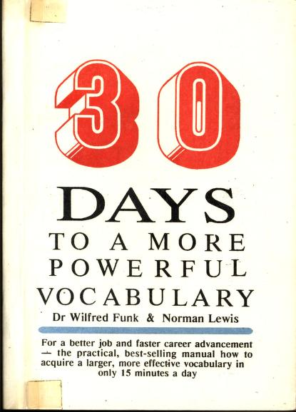 Download 30 Days to a More Powerful Vocabulary