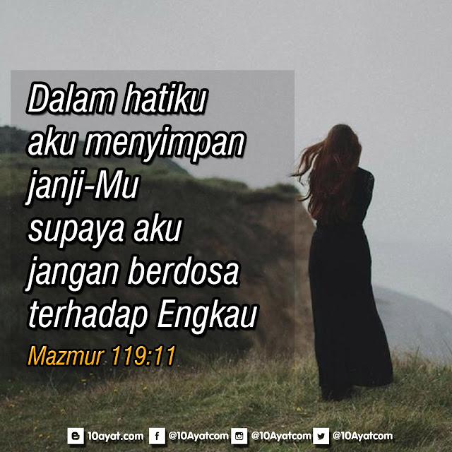 Mazmur 119:11