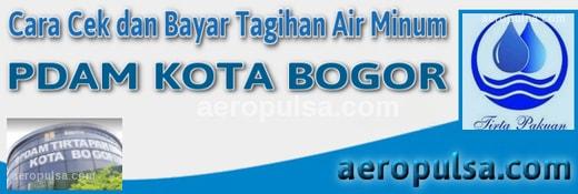 Cara cek dan bayar tagihan rekening PDAM Kota Bogor