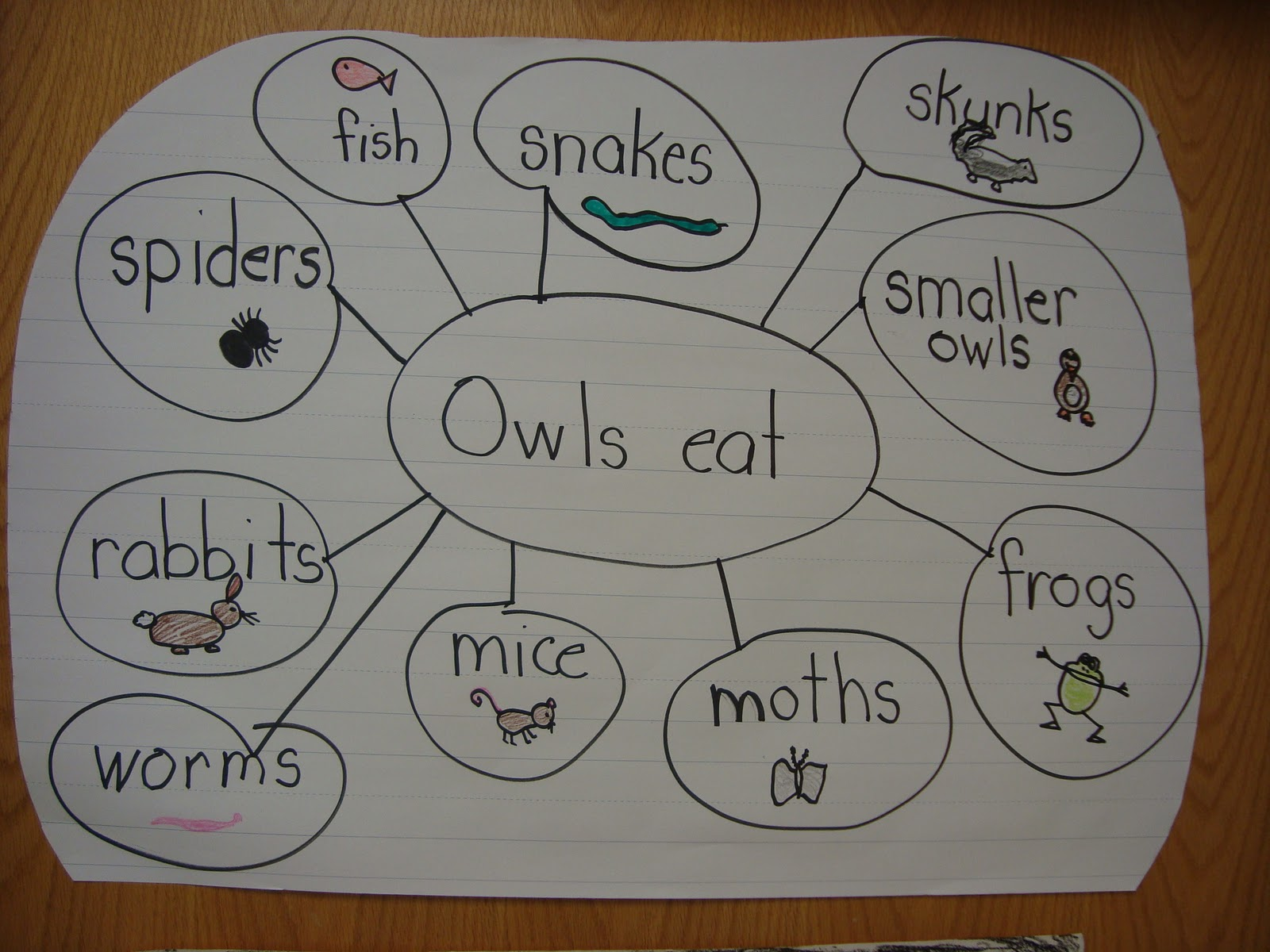 My First Grade Backpack Owl Vocabulary