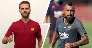 Barcelona set to present Pjanic on Tuesday, Vidal exit to be confirmed on that day too – Gerard Romero