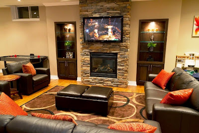 wall color for basement family room