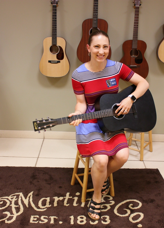 love, laurie: a tour of the martin guitar factory