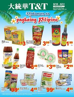 T&T Supermarket Flyer August 18 – 24, 2017