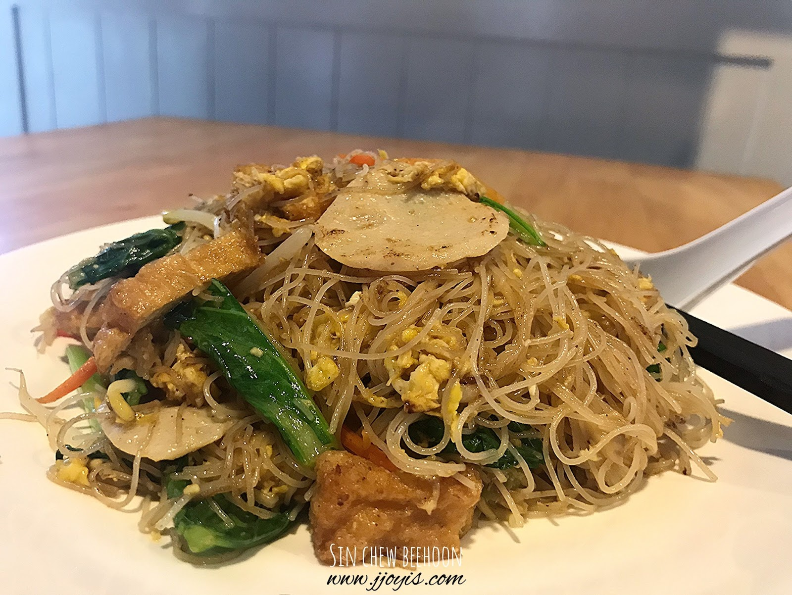 zi zi vegetarian yishun food review sin chew beehoon