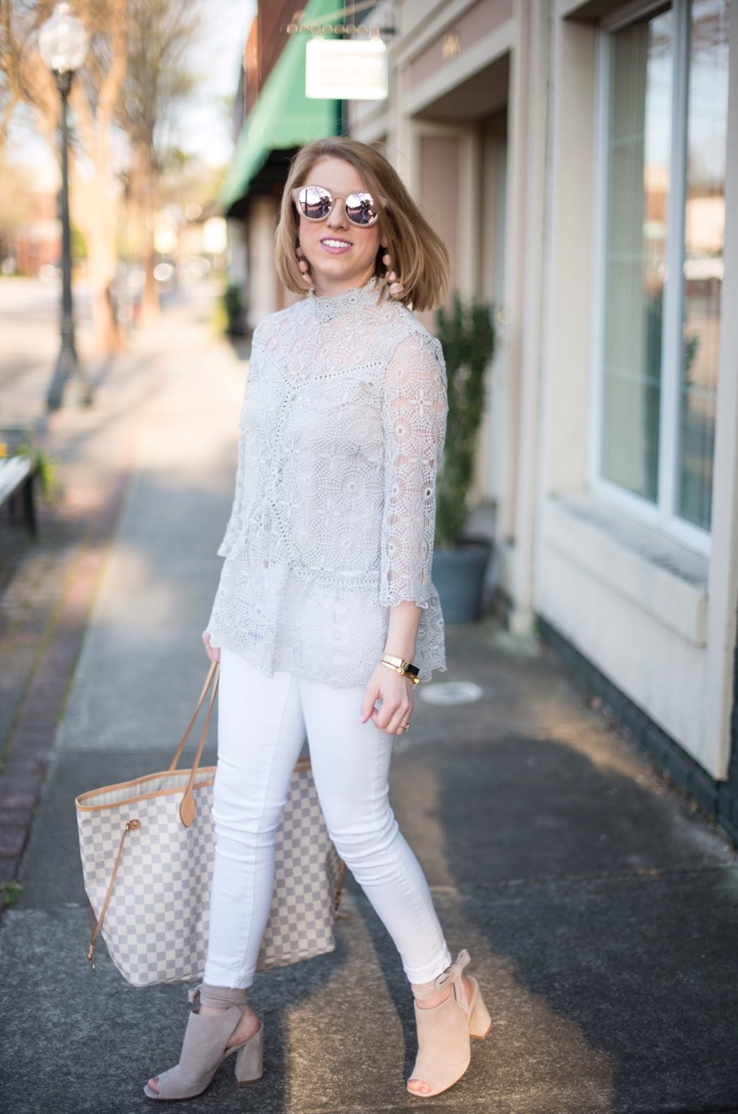 Blush & Grey - Click through to see more on Something Delightful Blog!