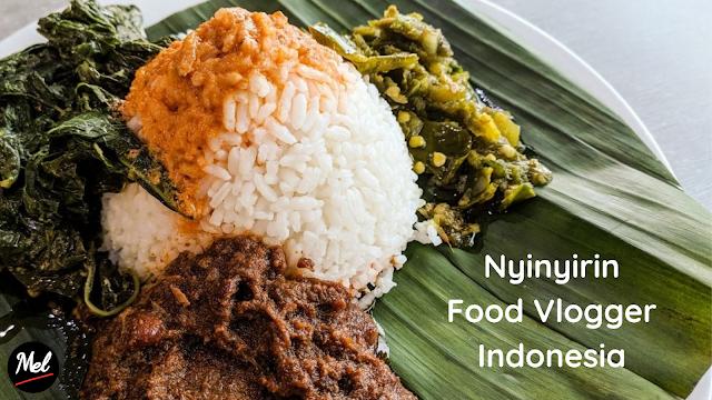 Nyinyirin Food Vlogger Indonesia