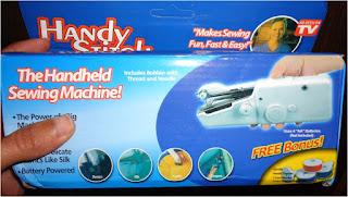 مراجعة لماكينة الخياطة المحمولة Portable Electric Sewing Machine