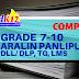 GRADE 7-10 ARALING PANLIPUNAN (AP)  DLL, DLP, TG, LMs (Downloads)