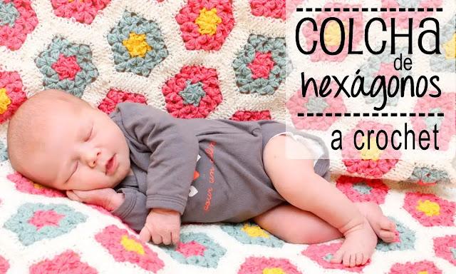 Colcha para Bebé a Crochet