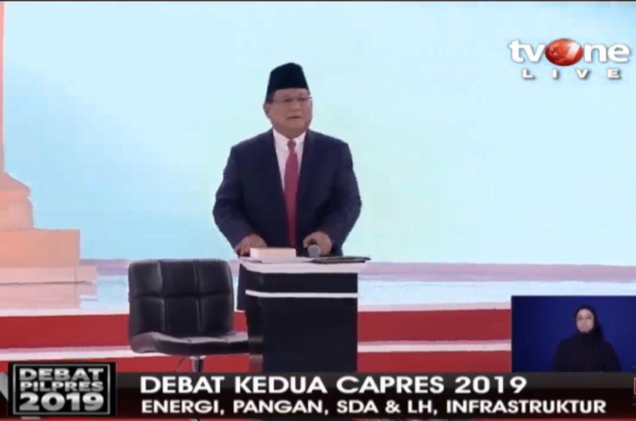 Jokowi Berbusa-Busa Soal Pertanian 4.0, Prabowo Beri Dua Pukulan Telak