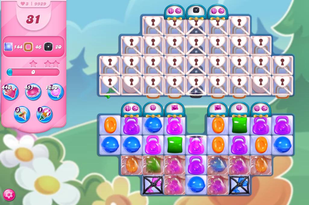 Candy Crush Saga level 9929