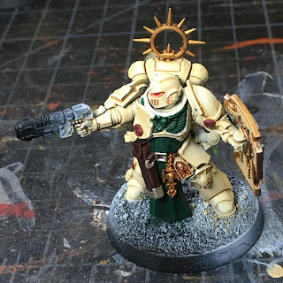 Dark Angels Indomitus Deathwing Lieutentant WIP