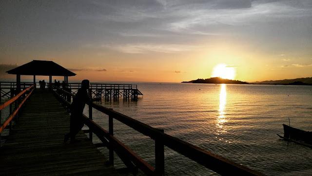 Mananggu Beach of Gorontalo