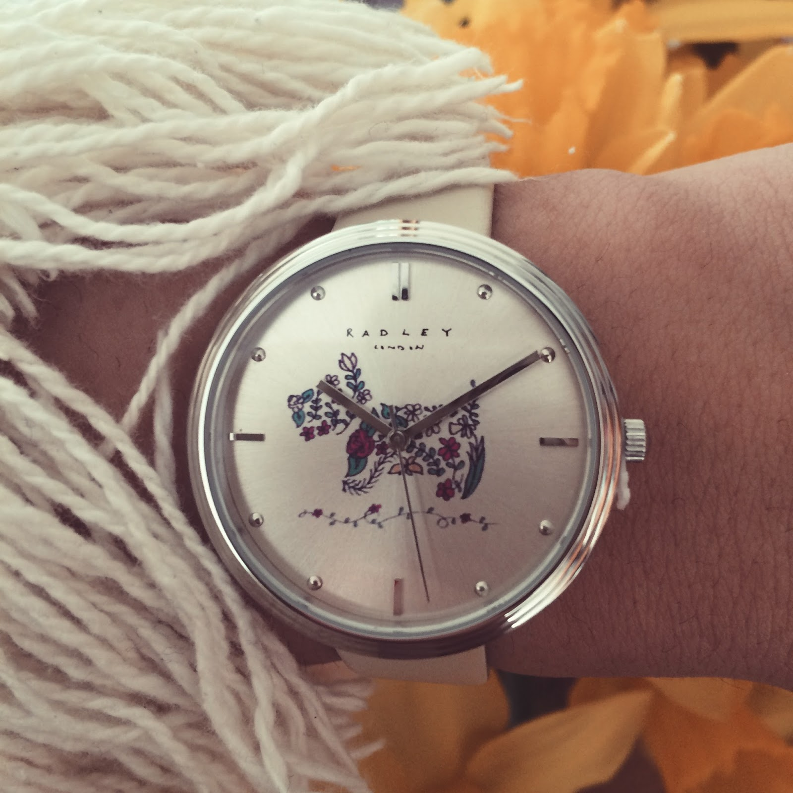 Ana Maddock- Radley London Rosemary's Garden House of Watches