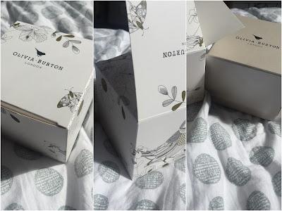 Montage boîte montre olivia burton