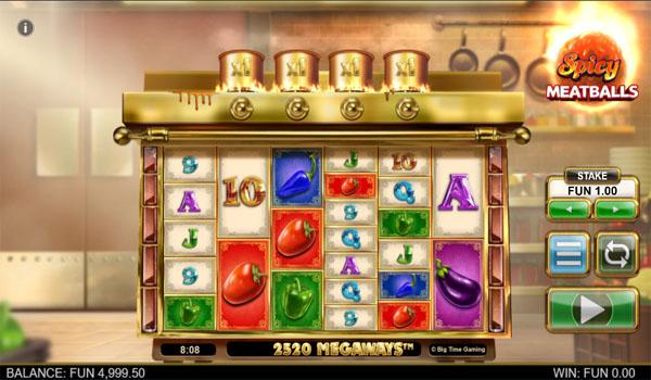 Main Gratis Slot Indonesia - Spicy Meatballs Megaways Big Time Gaming