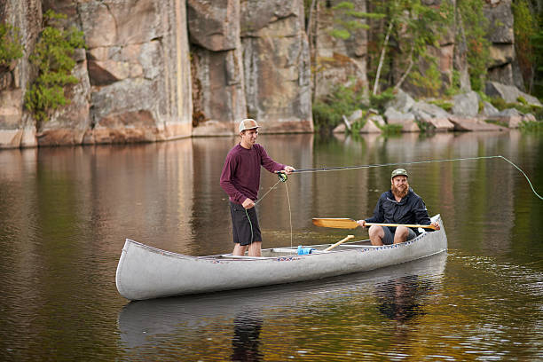 Fly Fishing From A Canoe – The Pros and Cons