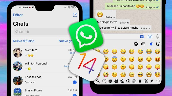 Convierte tu WhatsApp al estilo iPhone