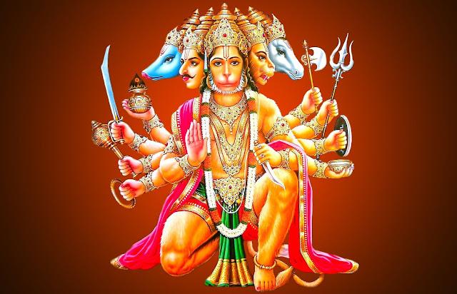 Lord Hanuman Panchmukhi  Wallpaper