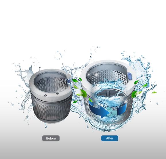 Máy giặt Samsung WA72H4000SW/SV