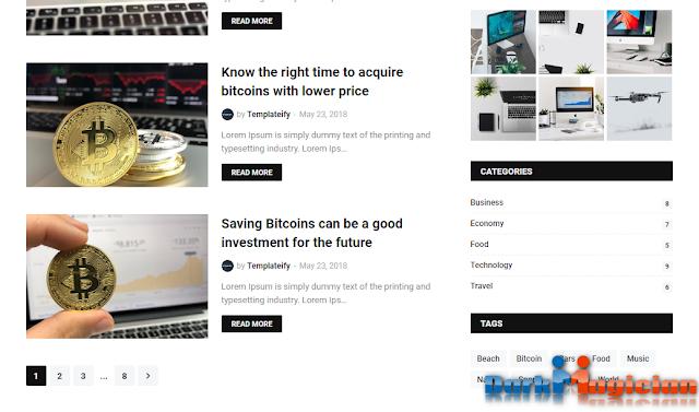Blogify অসাধারন একটি Blogger Template ডাউনলোড করে নিন আপনার জন্য 28