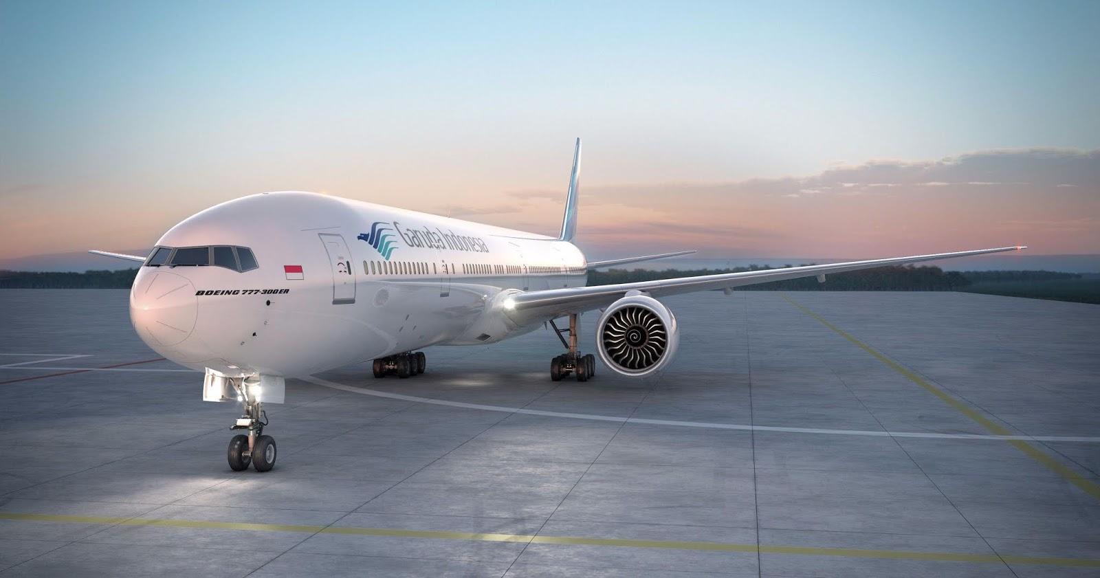 Garuda Indonesia Boeing 777 wallpapers