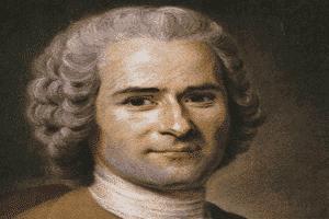 Retrato de Jean-Jacques Rousseau