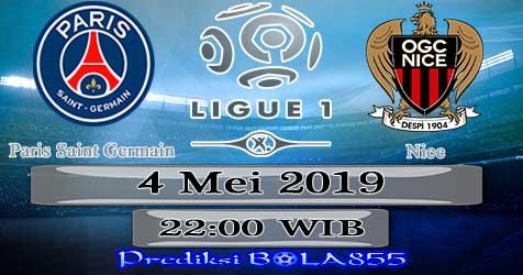 Prediksi Bola855 Paris Saint Germain vs Nice 4 Mei 2019