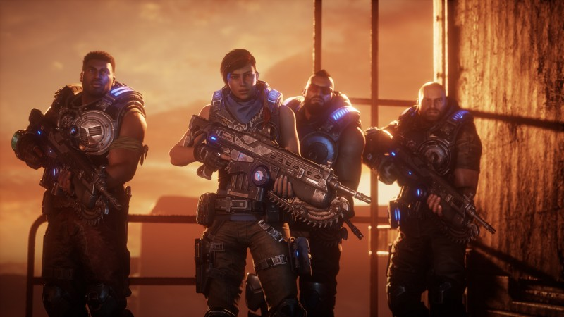 Gears of War Series Goes To Unreal Engine 5