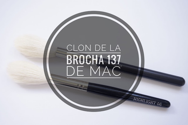 Clon brocha 137 de Mac