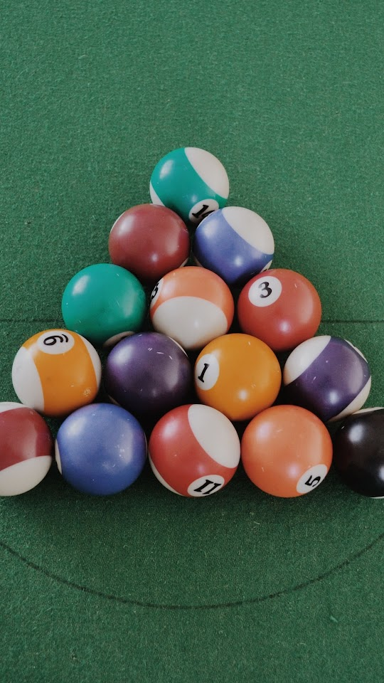 Pool Balls   Galaxy Note HD Wallpaper