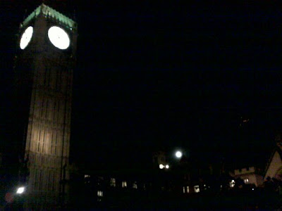Moon over Parliament
