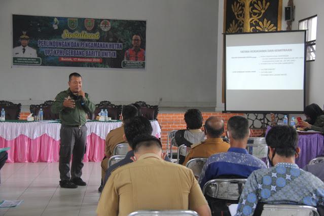 KPHL Gerbang Barito Unit IX Gelar Sosialisasi Perlindungan dan Pengamanan Hutan
