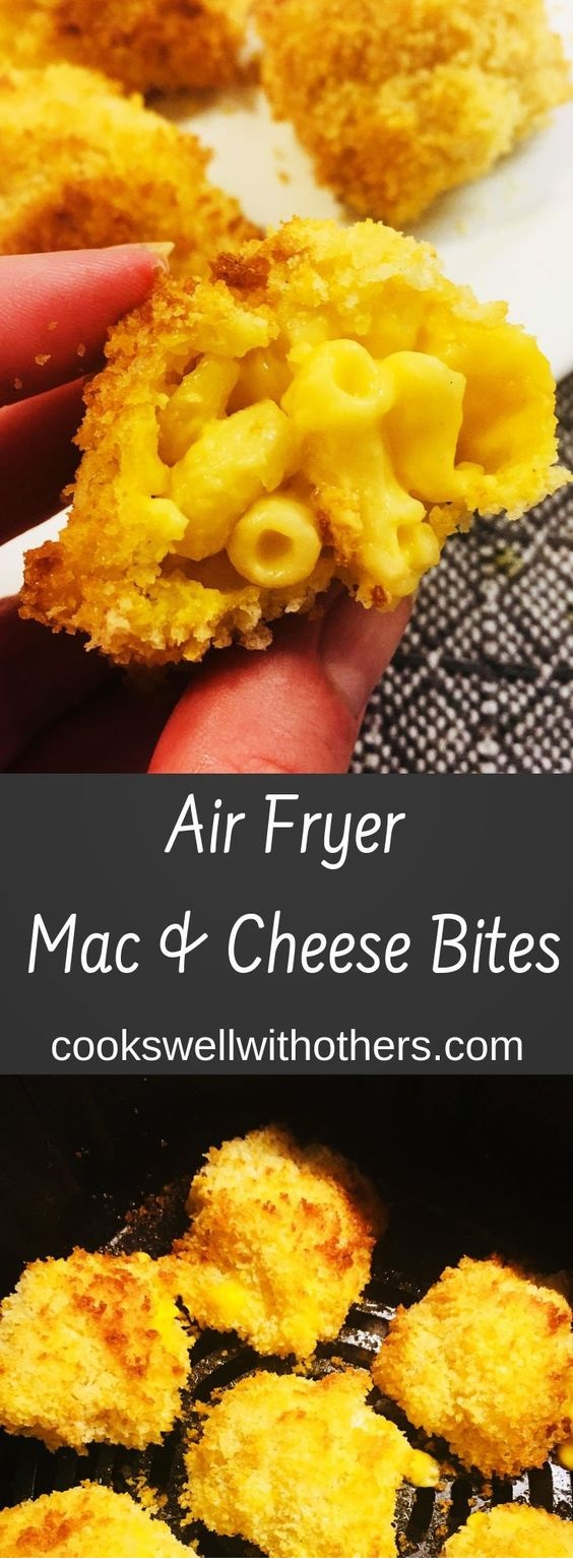 Air Fryer Mac And Cheese Bites