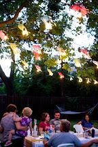 Domestic Fashionista Backyard Fall Celebration