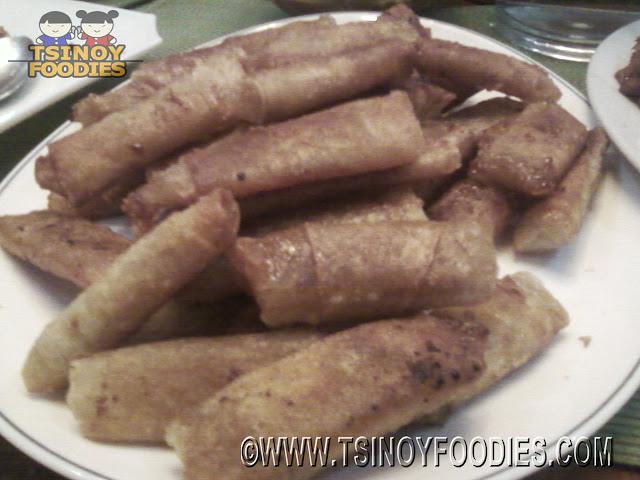 chinese tikoy lumpia rolls